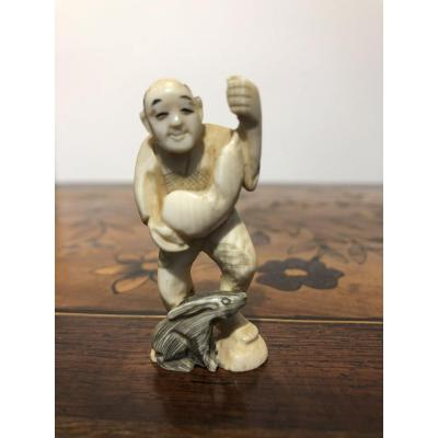 Netsuke Art Du Japon