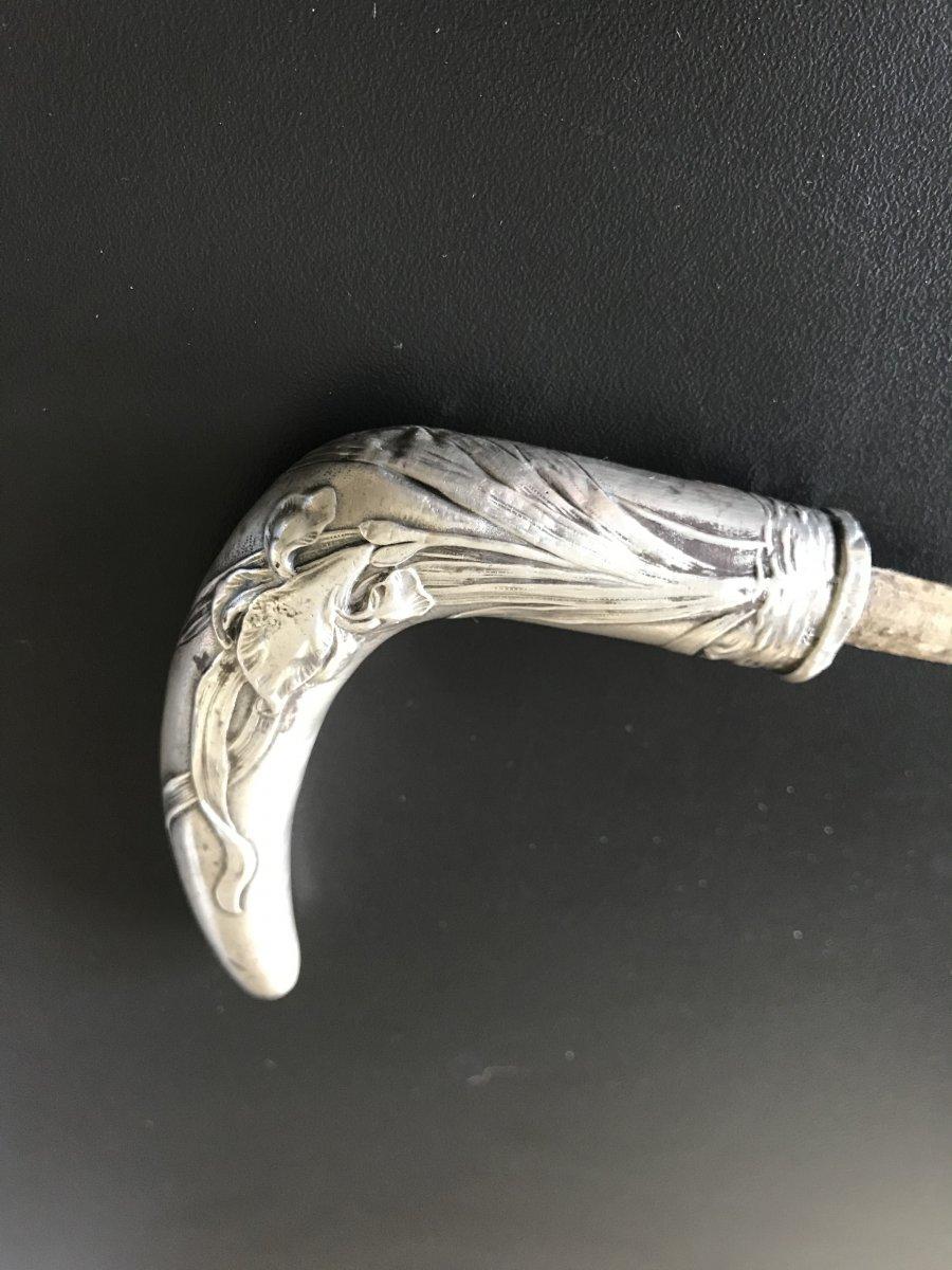 Silver Cane Knob
