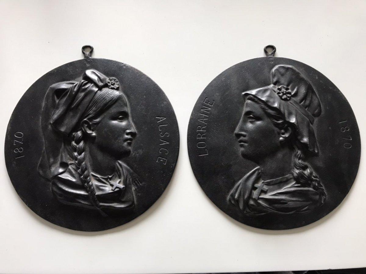 Cast Iron Medallion Plates