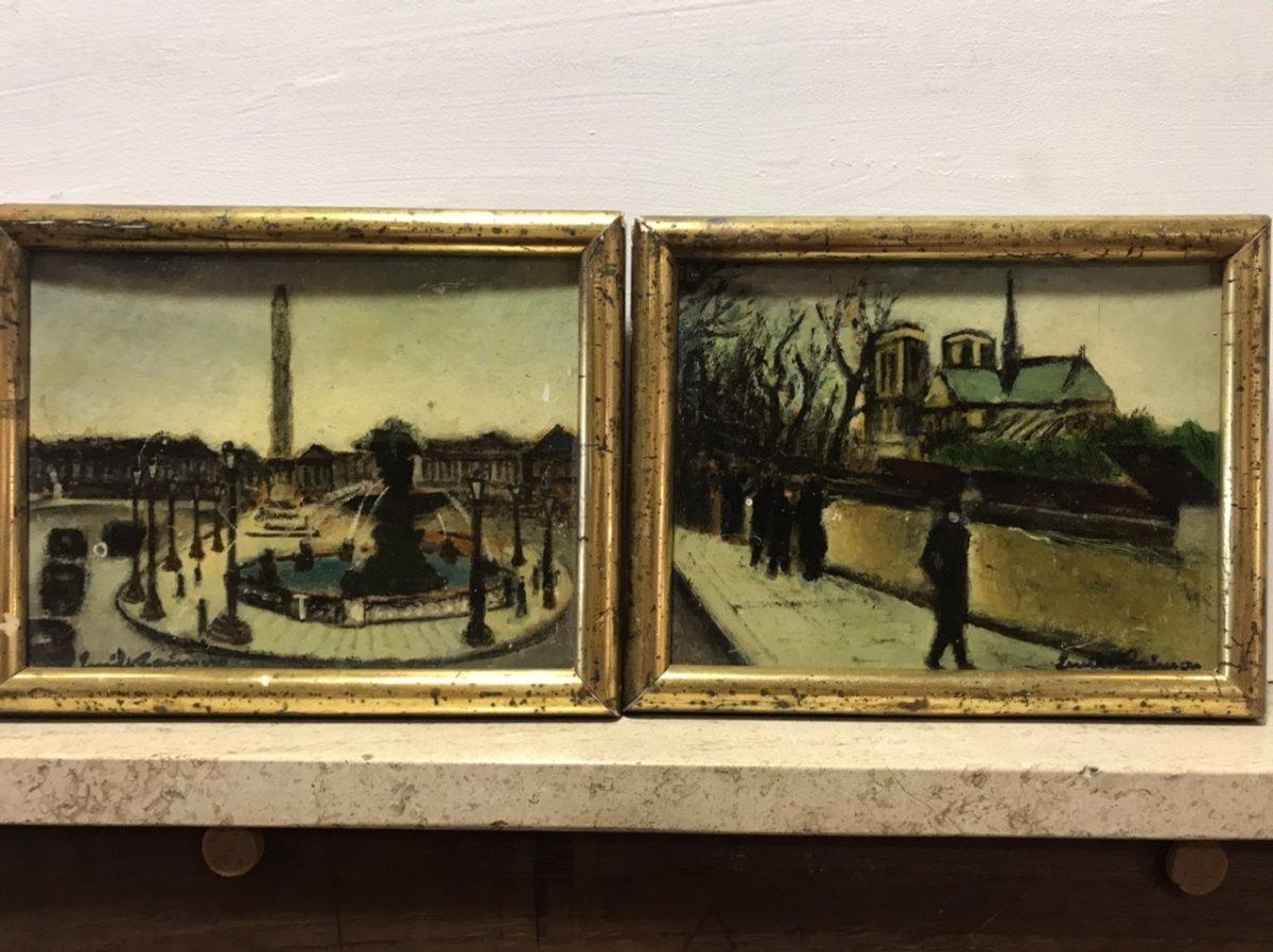 Two Views Of Paris
