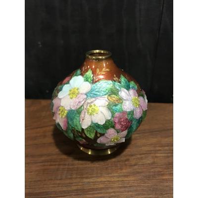 Vase Par C.fauré