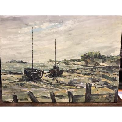 Bord de Mer à Marée Basse