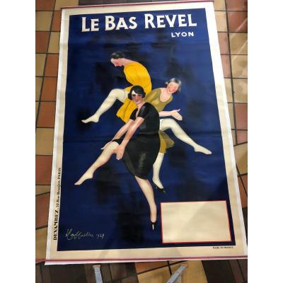 Affiche Le Bas Revel par Capiello ( Grand Modèle)