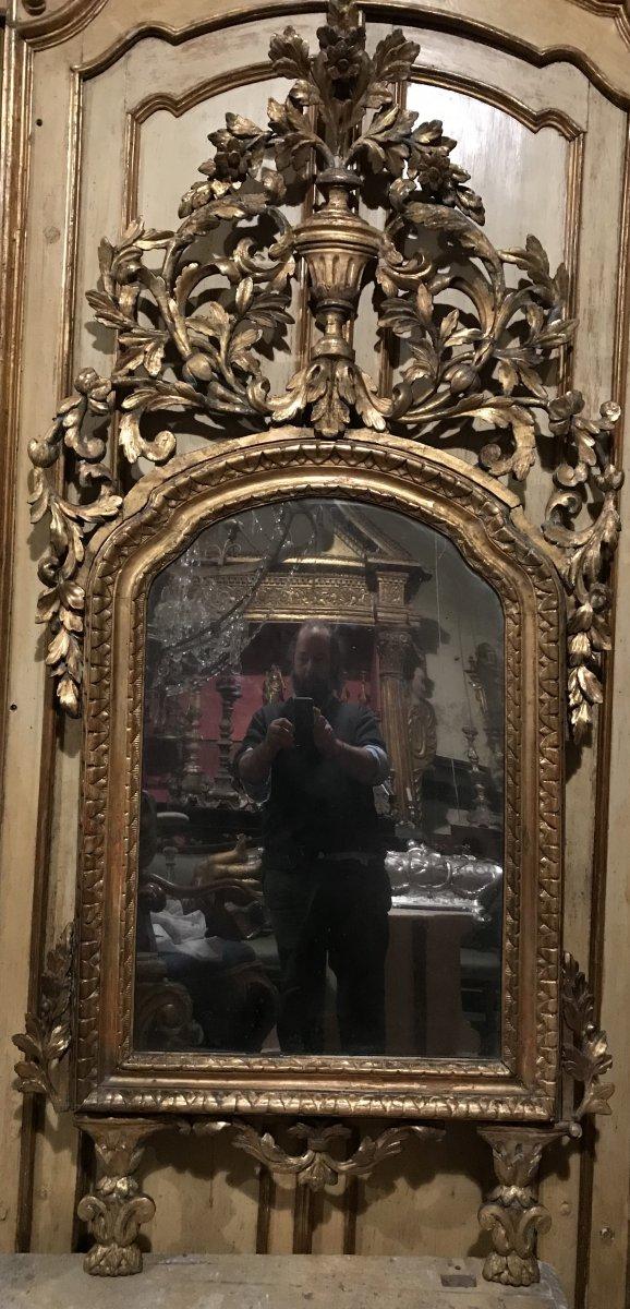 Miroir Piémontais XVIIIème Siècle.
