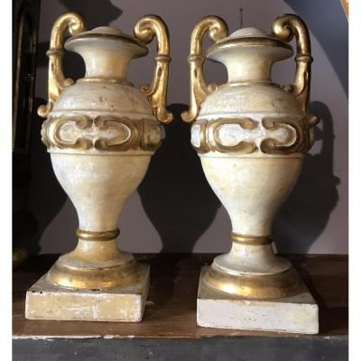 Pair Of Tuscan Palm Holders XVIIIsec.