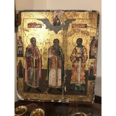 Icon Of Southern Russia Late 18th Century.