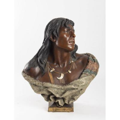 Bust Of A Native American