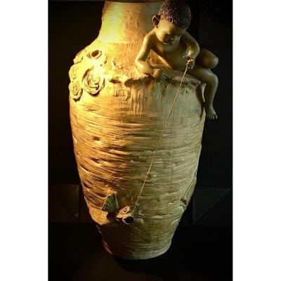 Goldscheider Terracotta Vase