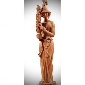 Sculpture Terre Cuite Des AnnÉes 1960