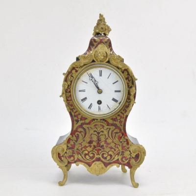 Cartel Boulle Louis XV Style Mounted In Bronze Napoleon III Period 19th Paris