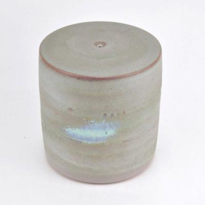 Antonio Lampecco (1932-2019) Vase De Forme Cylindrique En Céramique