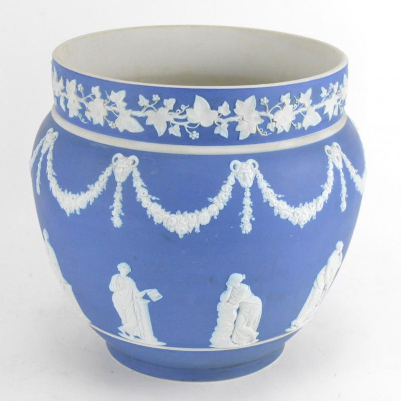 Cache-pot En Porcelaine Biscuit Wedgwood -photo-2