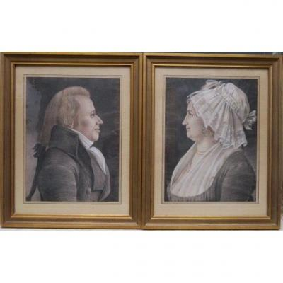 Portraits  Pastels 1802 Physionotraces