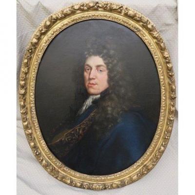 Portrait Du Duc De Monmouth  ( 1649-1685 )