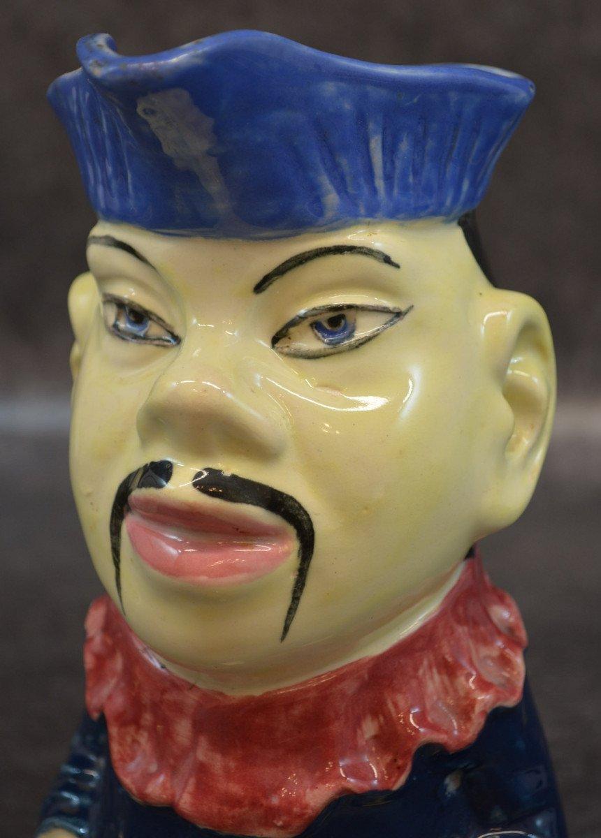 Pichet En Barbotine Le Chinois d'Orchies