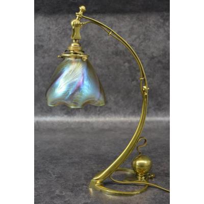 Lampe Art Nouveau Loetz