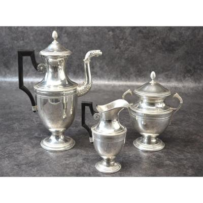 Empire Style Sterling Silver Coffee Service