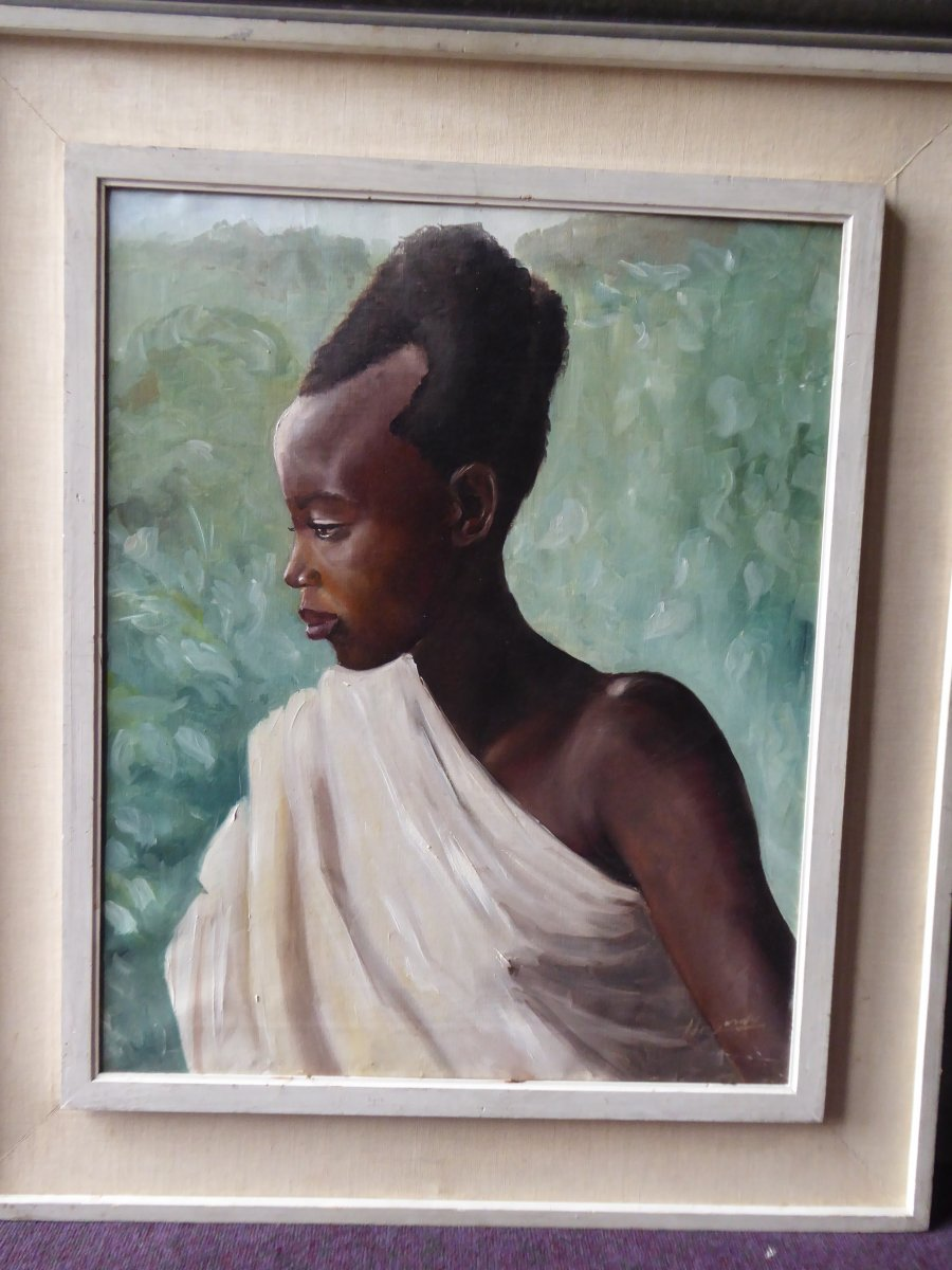 Portrait Of A Young African Woman, Circa 1930