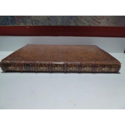 Traité De La  Coupe Des Pierres ,1764,grand In Folio Par De La Rue.