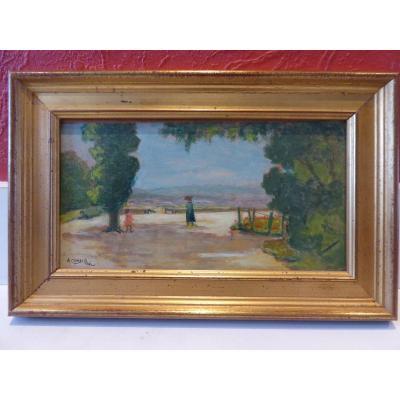 Augustin Grass-mick, Avignon,
