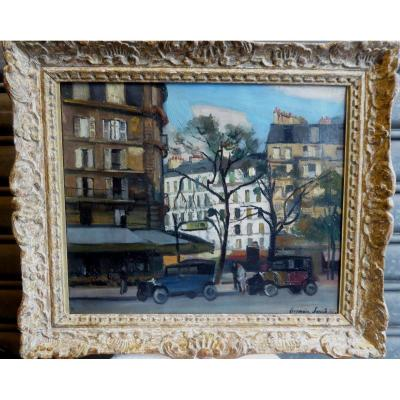 Place Maubert In Paris By Germain Jacob, 1926.