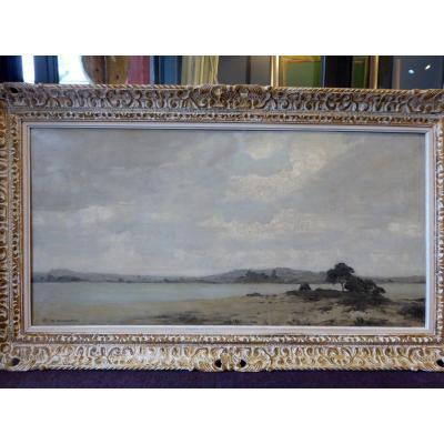 Large Oil By Pierre De Clausade, (1910-1976)