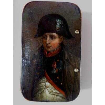 Snuffbox, Napoleon, 1st Half 19th Century.
