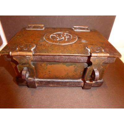 Box, Copper And Fittings, 17th Century.