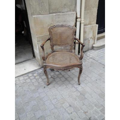 Pair Of Armchairs Louis 15 18th Cannes Era