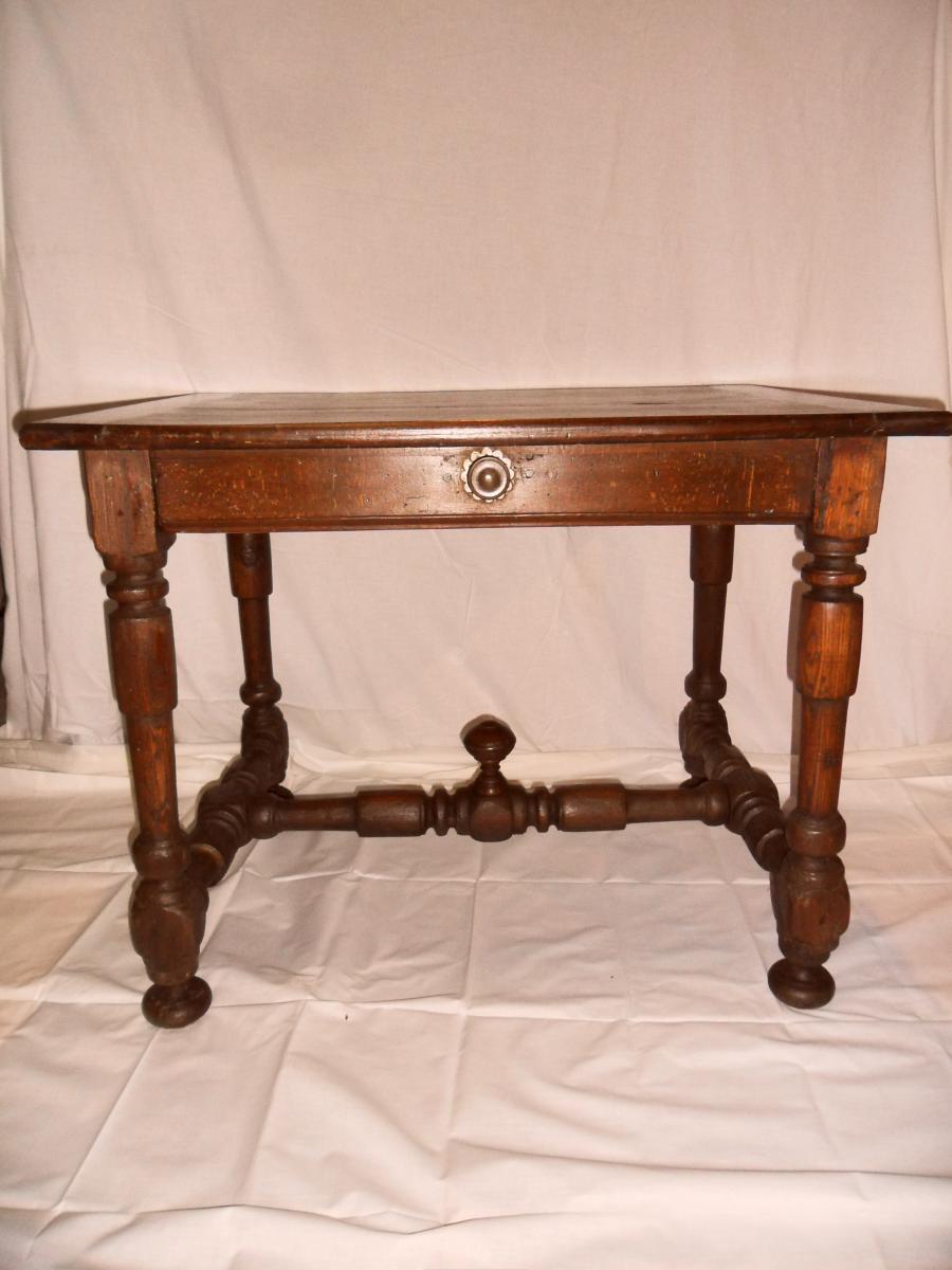 Table à Ecrire Louis XIII-photo-2