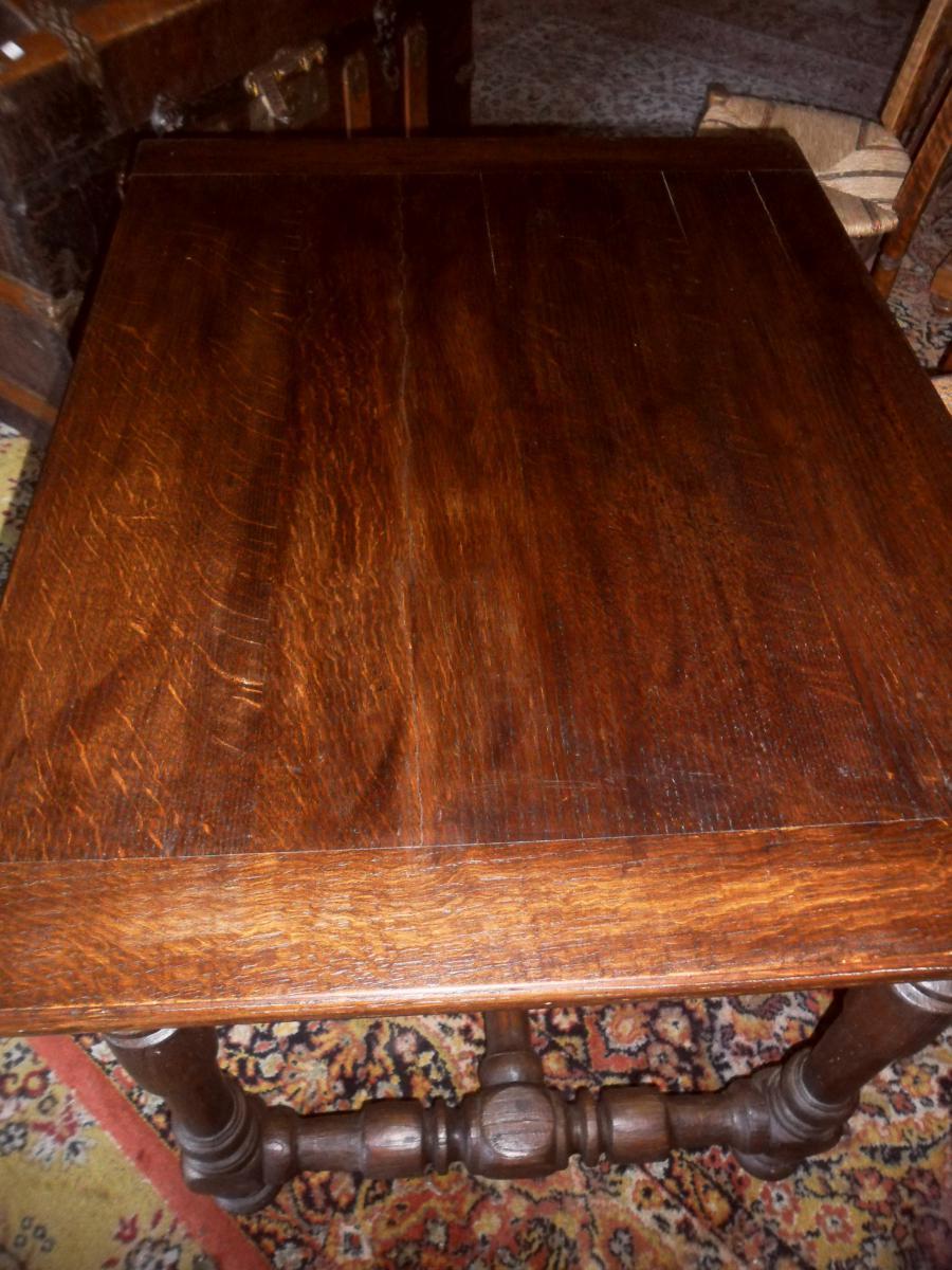 Table à Ecrire Louis XIII-photo-4
