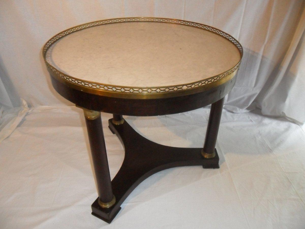 Empire Period Pedestal Table In Tripod Shape