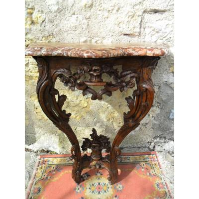 Petie Console Louis XV Epoque 18th