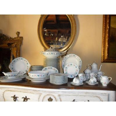 79 Piece Haviland Porcelain Set