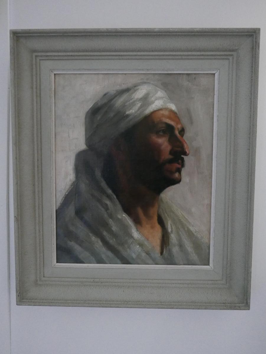 Portrait Orientaliste Début 20ème Siècle