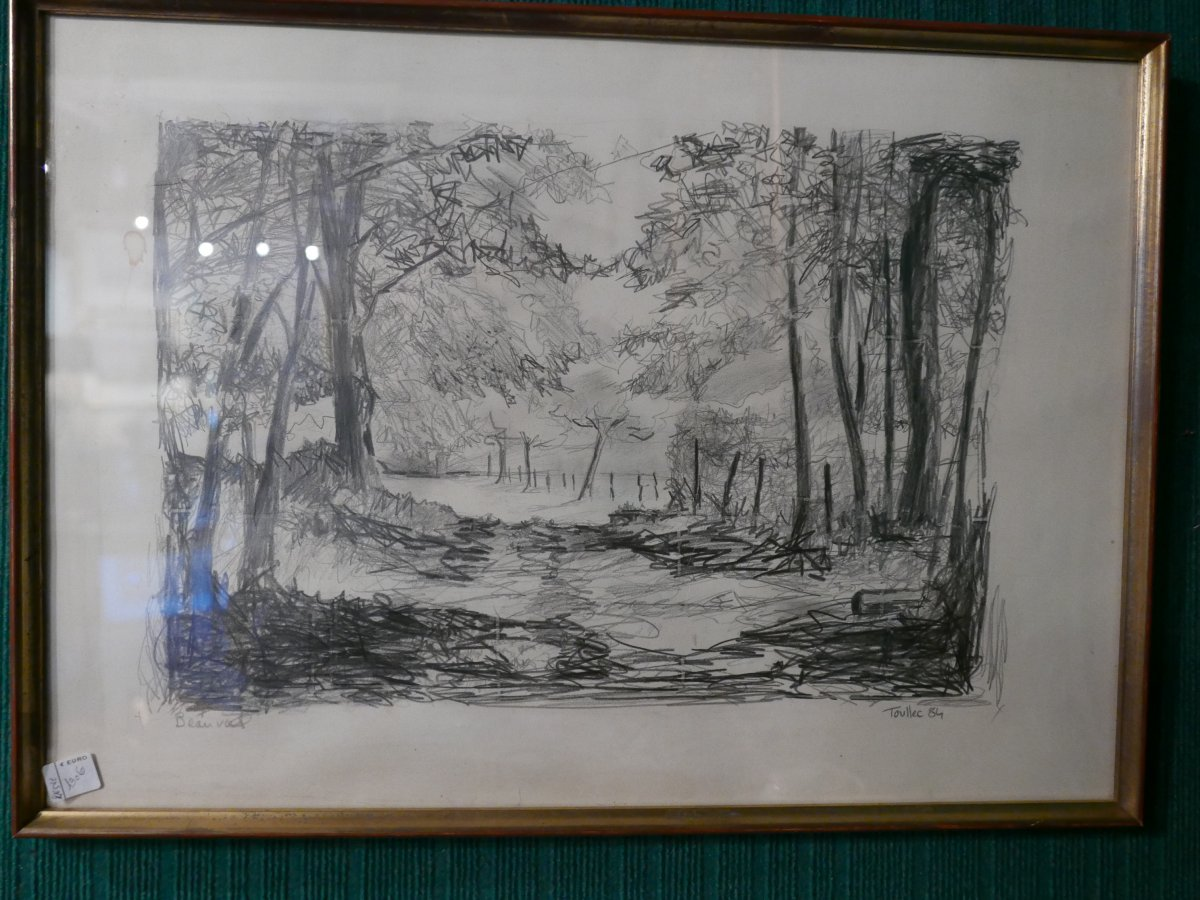 Drawing By Jean Louis Le Toullec