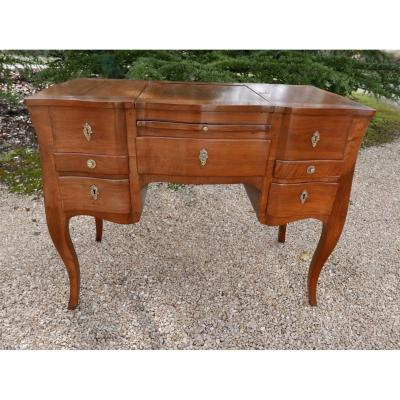 Dressing Table Louis XV 18th Walnut