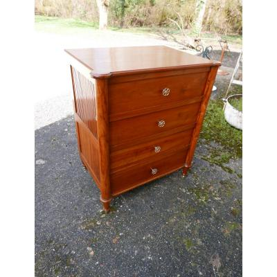 Directoire Commode In Cherrywood Early 19th