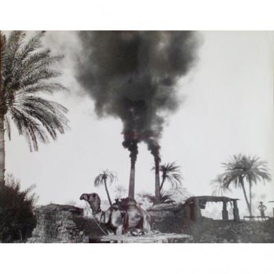 Tirage Argentique - Paul Almasy – « Briqueterie Au Pakistan »  Vers 1970