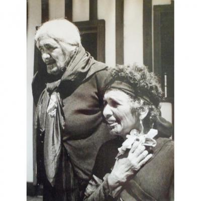 Tirage Argentique - Paul Almasy – « Femmes Maories » Nouvelle Zélande  (1968-1970)