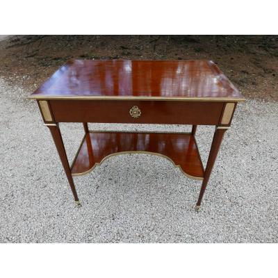 Table A écrire De Style Louis XVI d'André Mailfer Début 20ème