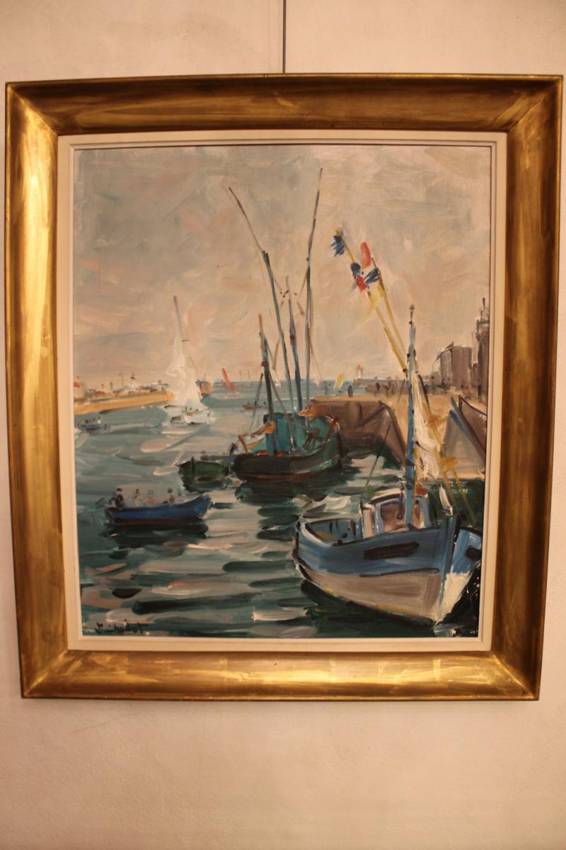 Bateaux De Pêche Au Port De Jean Chabot