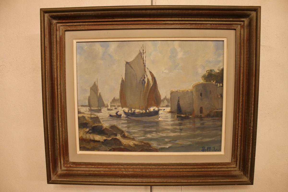 Peinture De Henri Miloch