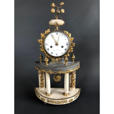 Pendule d'époque Louis XVI - Roy à Paris