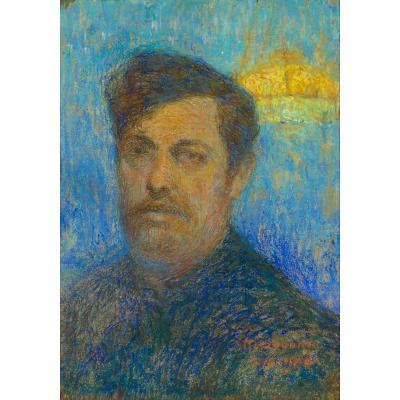 "SOUDAN, Maurice - ""Autoportrait symboliste"", 1910"