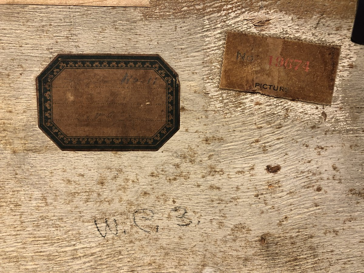 Léopold Survage - Port Vendres - Casein On Panel - 1925-photo-1