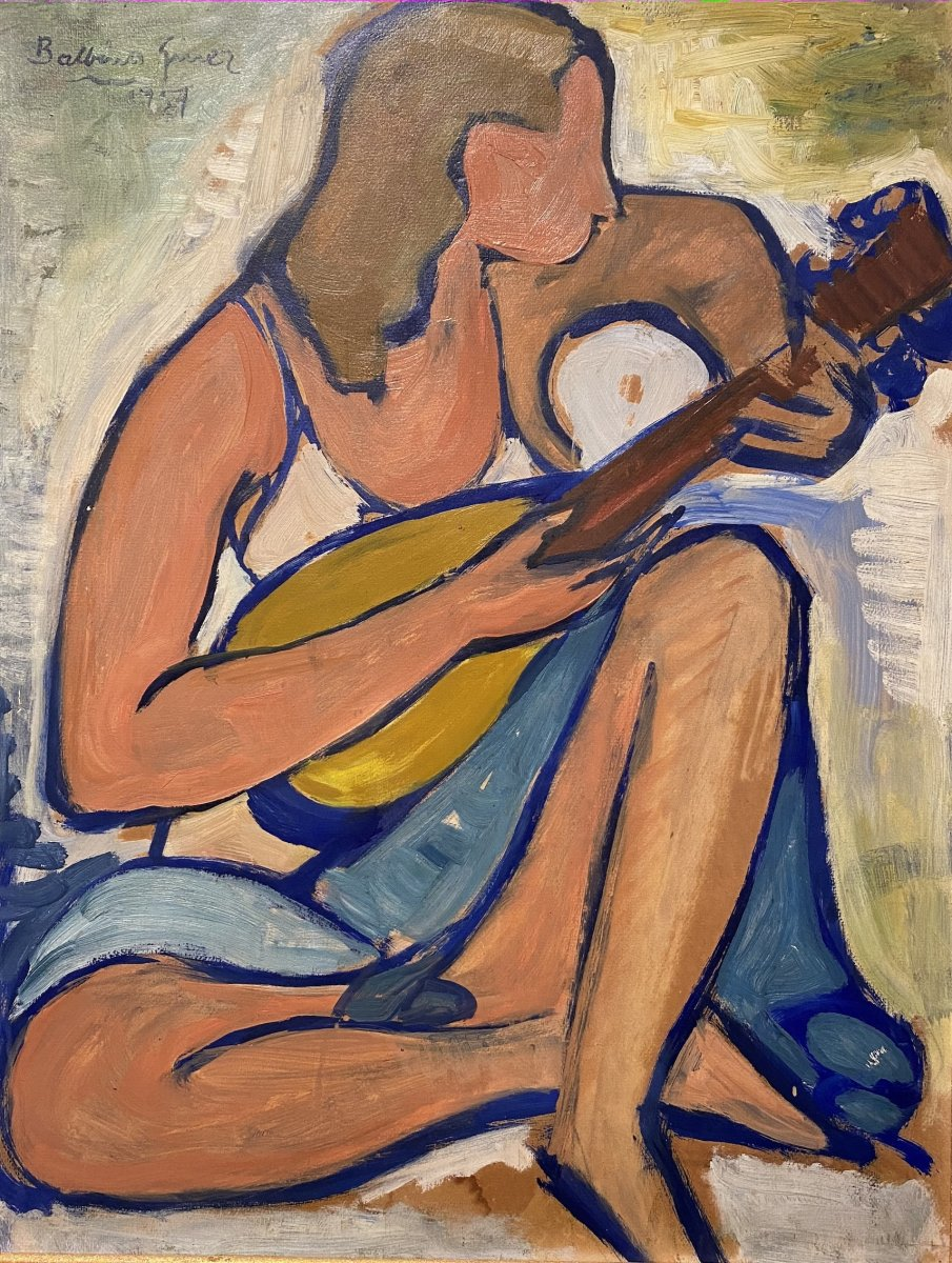 Balbino Giner Joueuse De Mandoline 1957