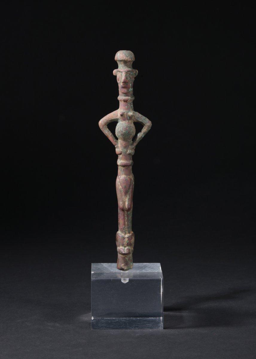 Idole En Bronze Du Louristan