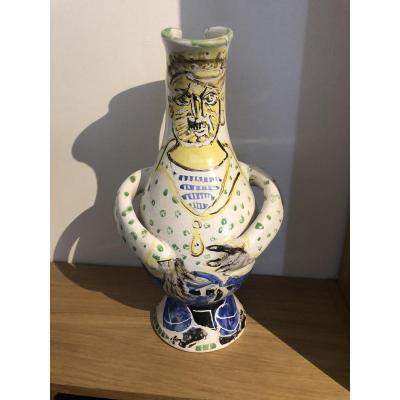 Edouard Pignon Ceramic 1954