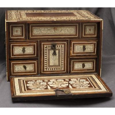 Indo-portuguese Cabinet From XVIIth Century
